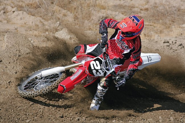 REAL TESTS! 2010 MXA RACE TEST OF THE HONDA CRF250:|Motocross Action ...