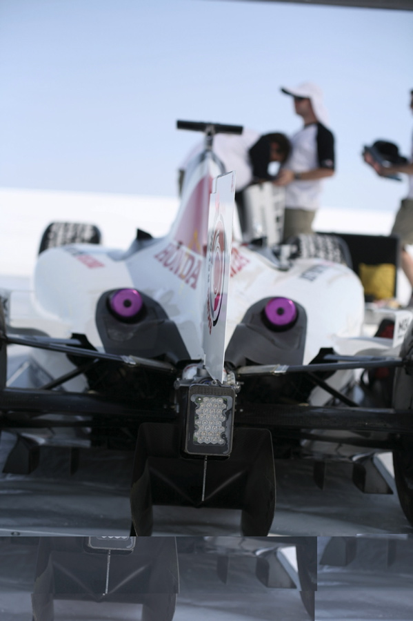 The New F1 Canna Cannova Is Set To Take Cannas To A New: HOW FAST? HONDA TAKES F1 CAR TO BONNEVILLE SALT FLATS