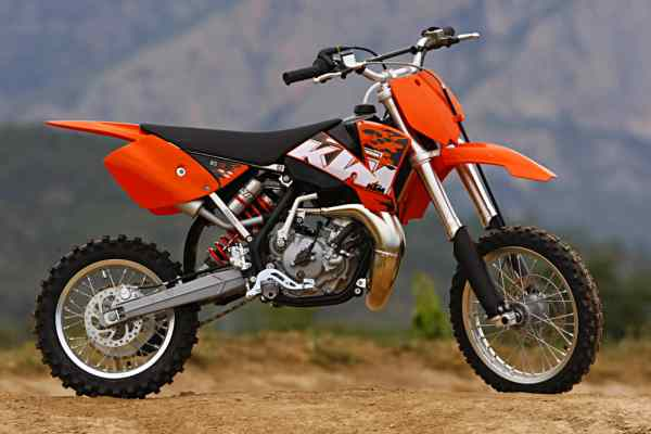 2008 ktm intro are you ready for electric start two strokes motocross action magazine. Black Bedroom Furniture Sets. Home Design Ideas