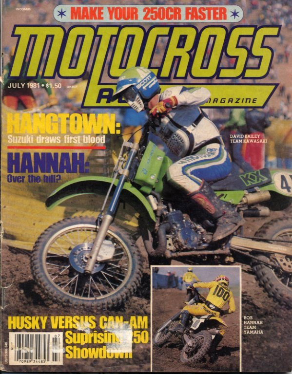 Motocross Action Classics July 1981 Issue Motocross Action Magazine