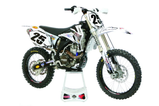 WE RIDE THE ROCK'S RACING STEALTH YAMAHA YZ450F:|Motocross Action ...