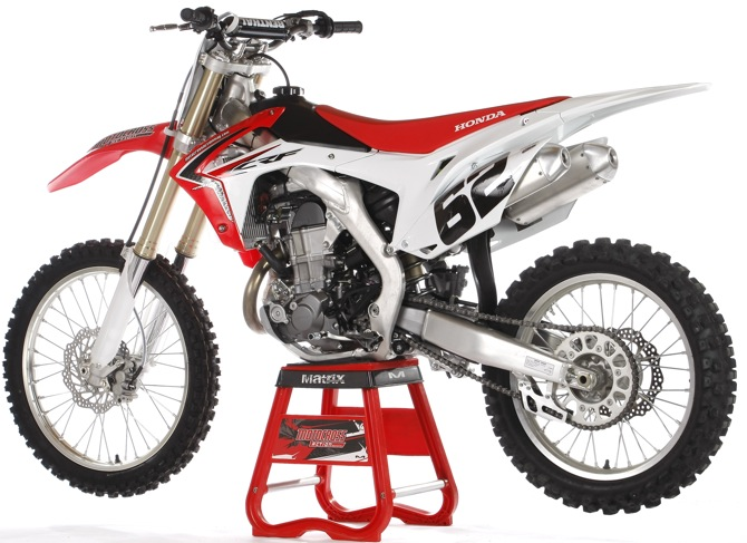 Mxa S 90 Second Test 2014 Honda Crf450