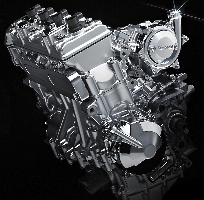 Kawasaki Supercharger Kits: KAWASAKI'S NEW SUPERCHARGED FOUR-STROKE ENGINE