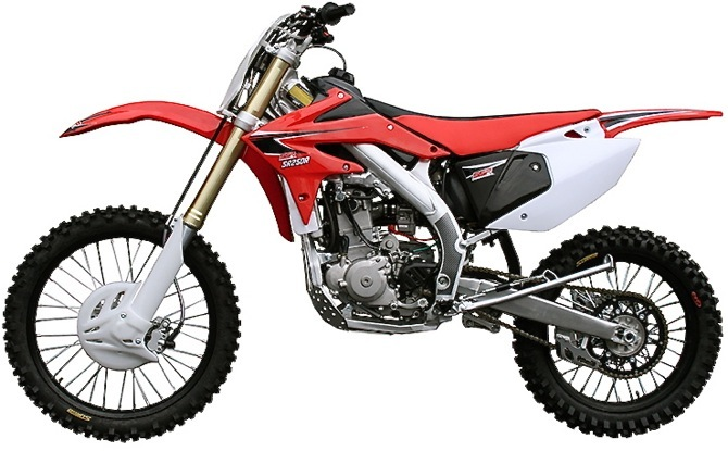 Honda Dealers Seattle >> THE UNDER $4000 HONDA CRF250...OOPS! IT'S NOT A CRF250. IT'S A SSR SR250R|Motocross Action Magazine