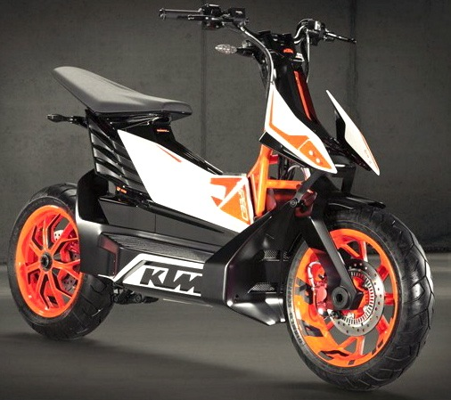 Ktm S E Speed Electric Scooter A Very Pointy Lithium Ion