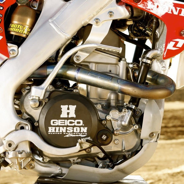 WE RIDE JUSTIN BARCIA'S GEICO HONDA CRF250: AFTERALL, HE DOESN'T USE