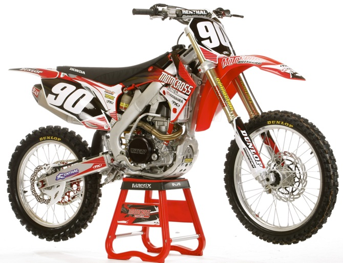 HOW TO BUILD CHAMPAGNE HONDA CRF250     ON A BEER BUDGET