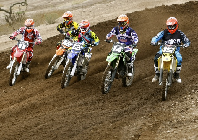 MXA'S 2012 250 FOUR-STROKE SHOOTOUT: OUR BRUTAL & HONEST OPINIONS OF