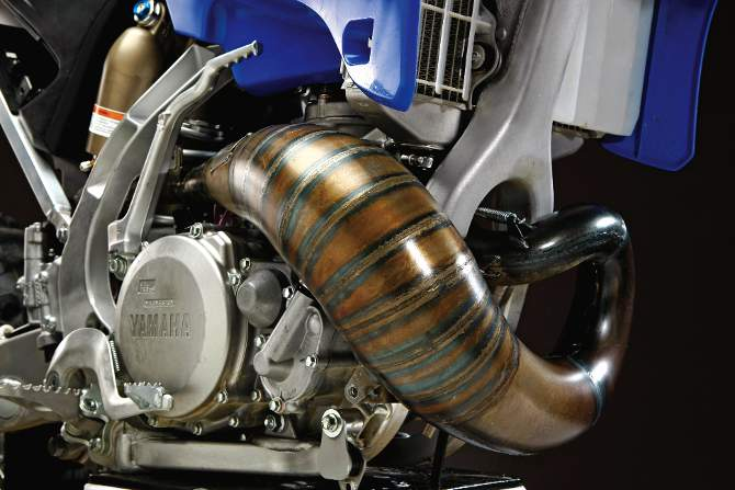 SEARCHING FOR THE ULTIMATE YZ250 TWO-STROKE PIPE | Motocross Action