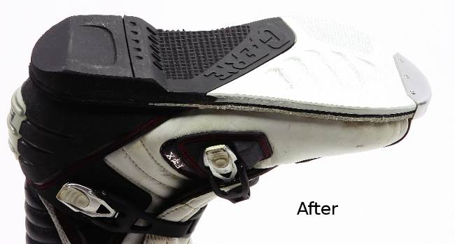 Gaerne Boots Sg12 >> MXA TEAM TESTED: PRO BOOT RESOLE AND REPAIR | Motocross Action Magazine