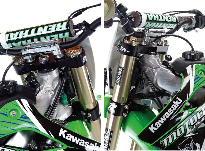 New Products Engineering : Mxa team tested ride engineering kx f mm offset