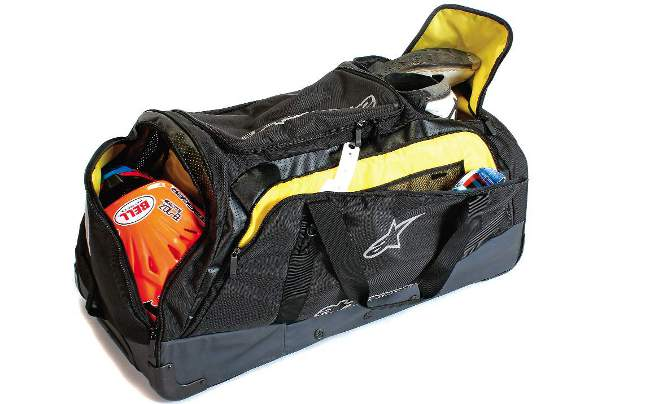 Part Of Alpinestars New Technical Collection This Gear Bag Is Designed To Hold Everything A Motocross Racer Might Want Haul The Track