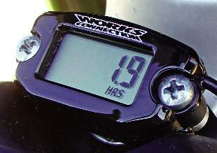 MXA TEAM TESTED: WORKS CONNECTION TACH/HOUR METER