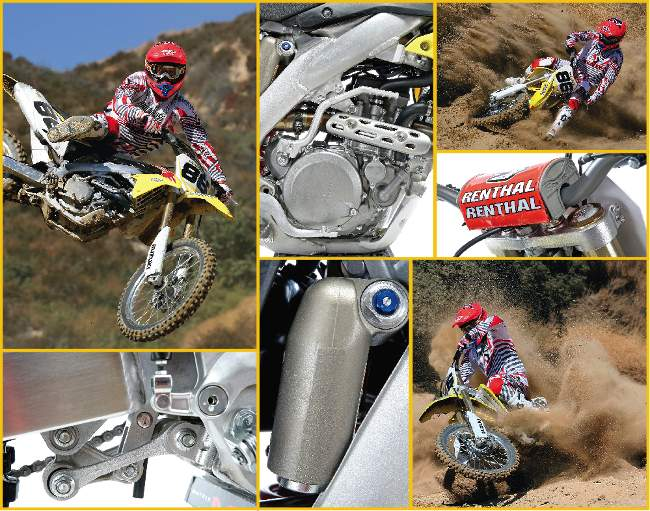 2011 SUZUKI RM Z450 MOTOCROSS TEST AFTER YEARS OF BEING