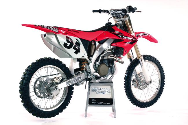 best motocross bikes of the past 37 years motocross action magazine. Black Bedroom Furniture Sets. Home Design Ideas