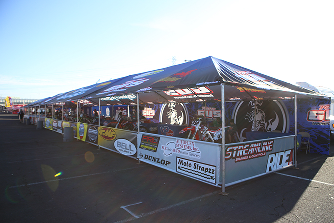 Team GUS always has a huge display and tent set up. & PIT PASS: OAKLAND SUPERCROSS PIT PHOTO GALLERY|Motocross Action ...