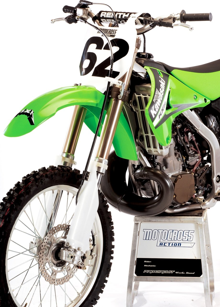 2006 KAWASAKI KX250 TWO-STROKE TEST | Motocross Action Magazine