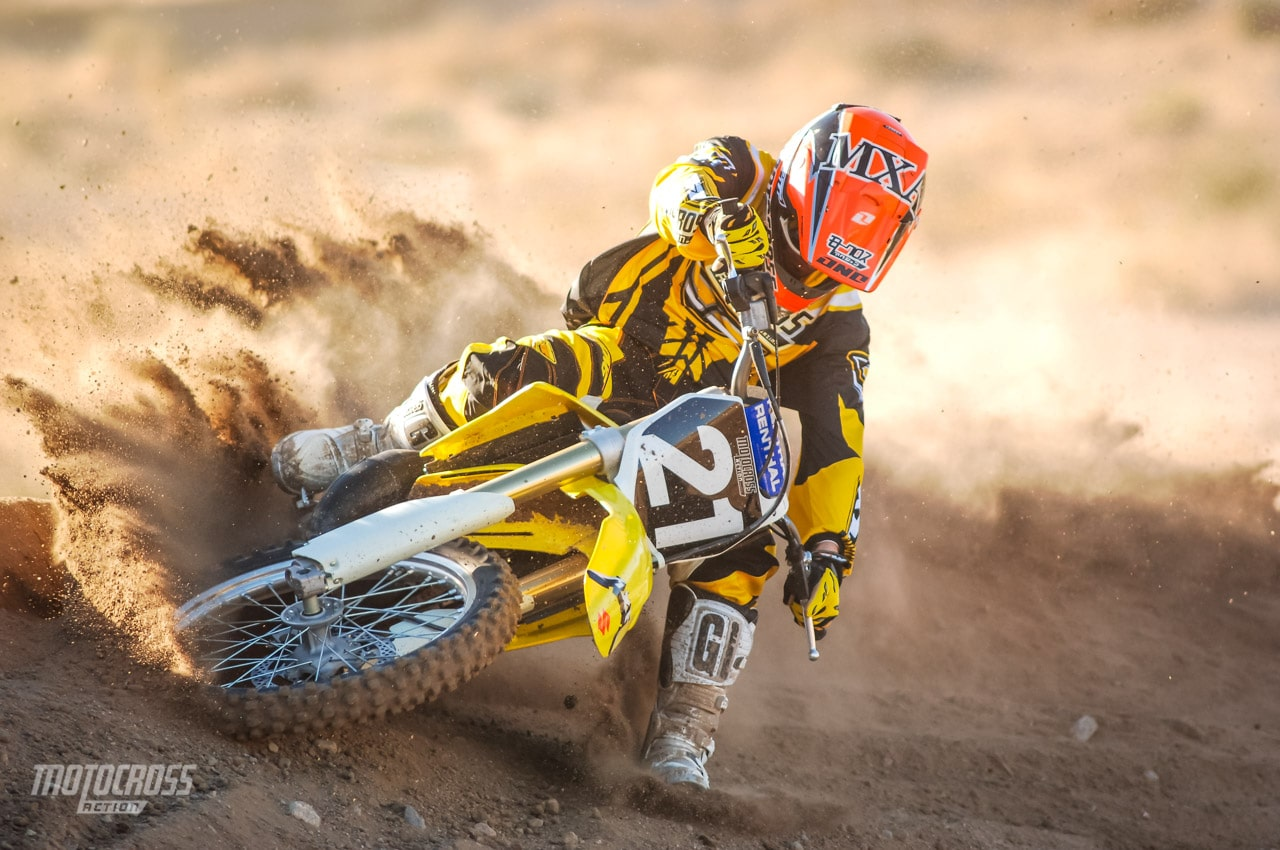 WE TEST THE 2006 SUZUKI RM125 TWO-STROKE | Motocross Action