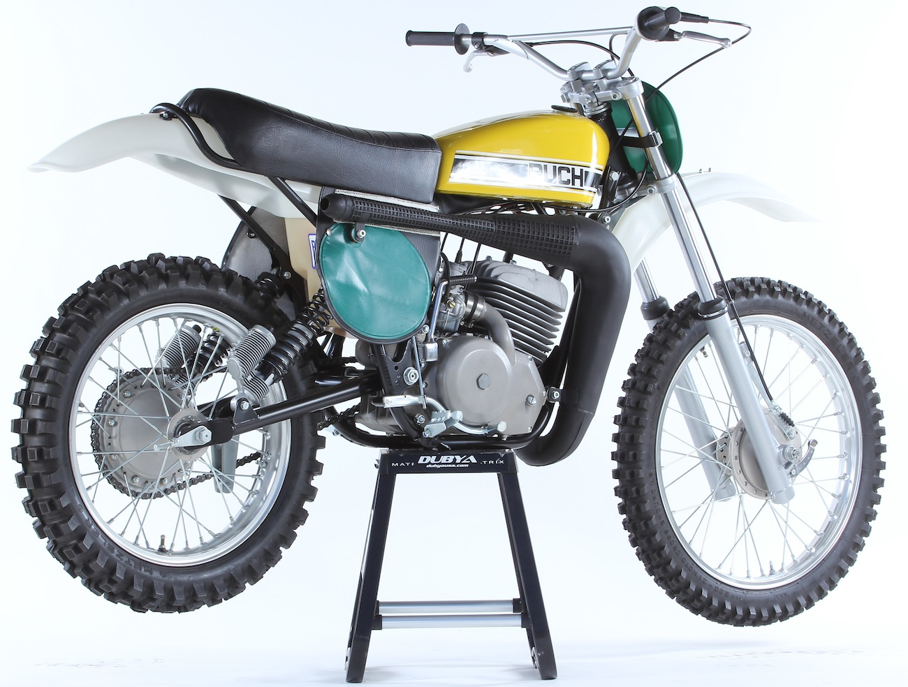 Classic motocross iron 1976 puch mc250 twin carbmotocross action in a huge leap puch hired belgium motocross rider harry everts to race the 1974 250 world championship on a tottally new machine everts finished third in sciox Gallery