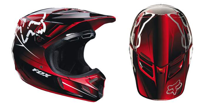 mxa team tested  fox racing v4 helmet