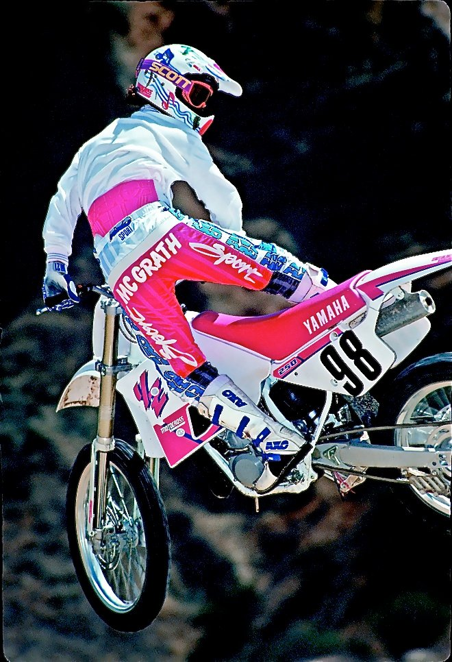 Test Rider Chronicle Jeremy Mcgrath Motocross Action Magazine