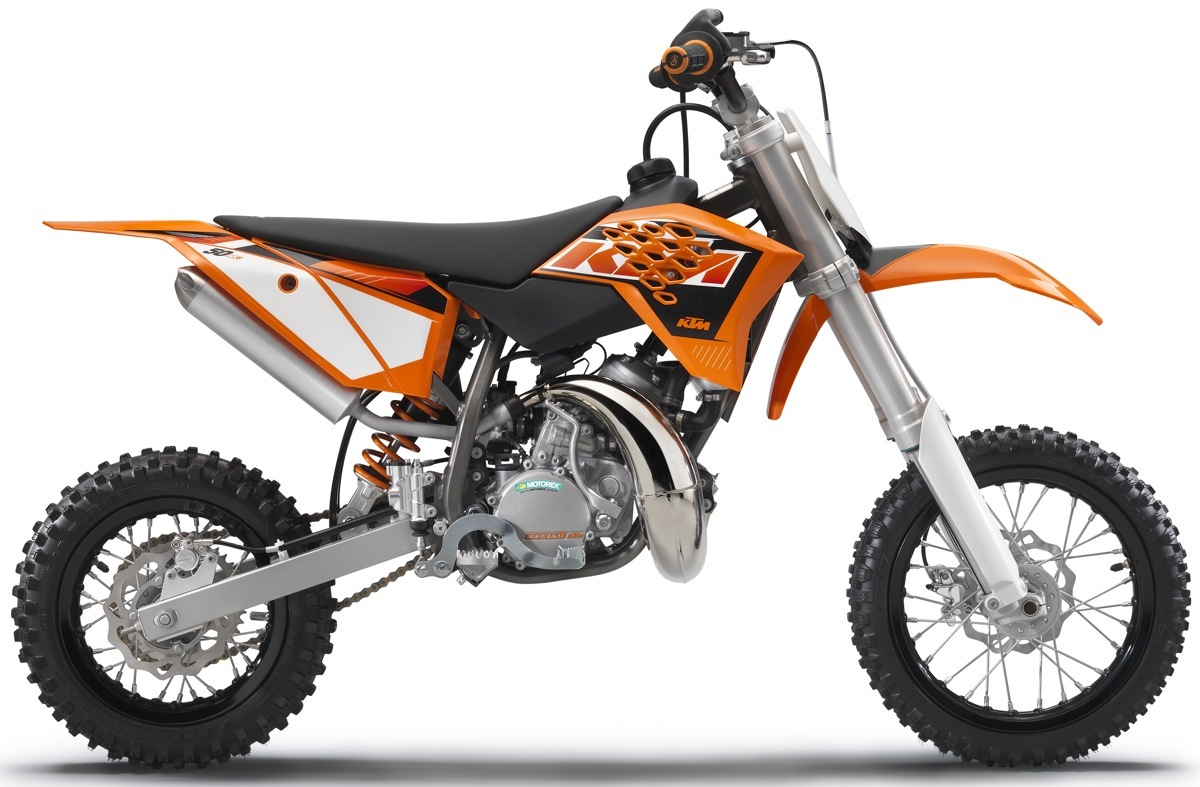 2015 KTM 50SX two-stroke.