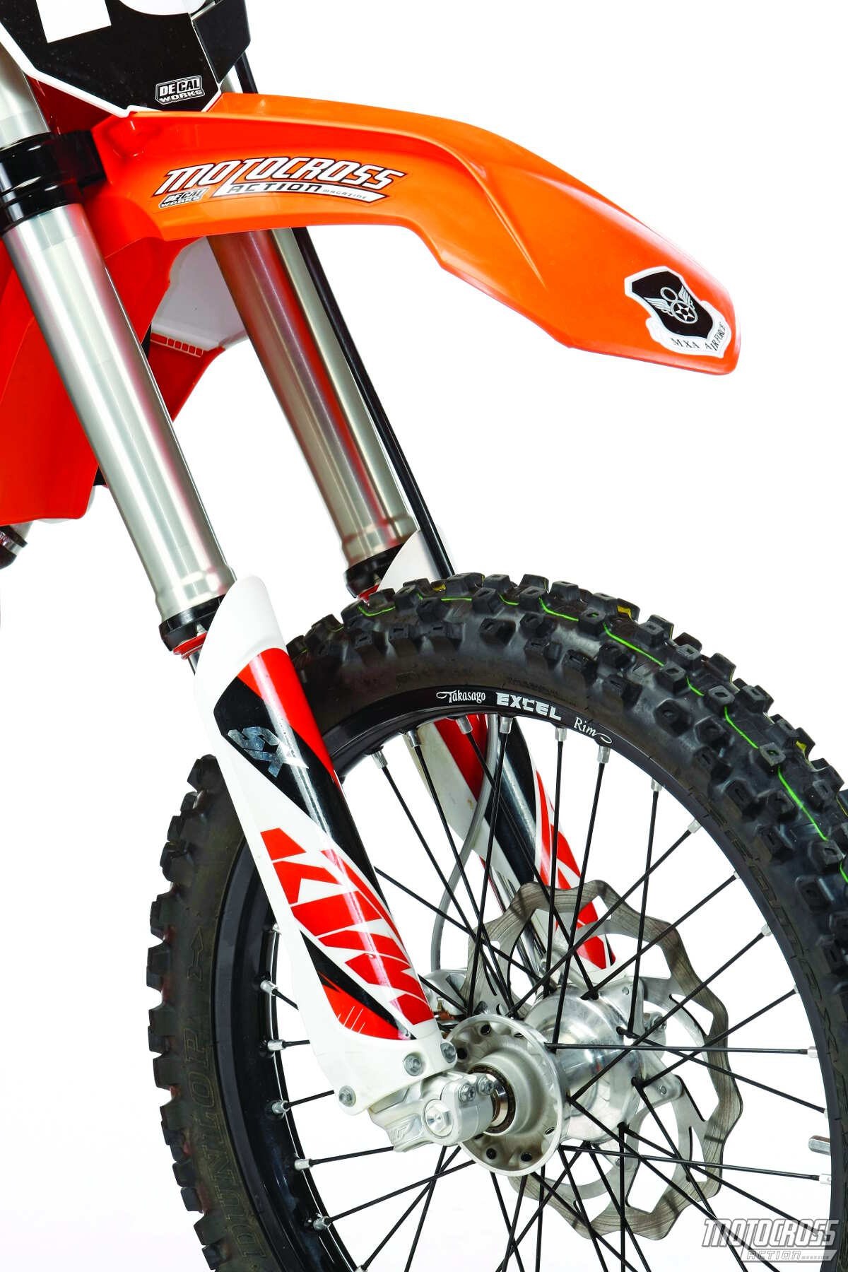 2015 Test Ride Ktm 250sxf on body cavitation