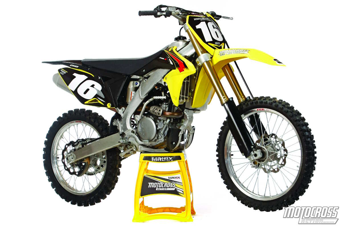 Repeat: Suzuki didn't make any quality updates to the 2015 RM-Z250