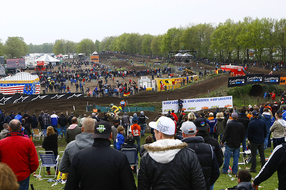Valkenswaard, Netherlands, marked round five of the MXGP series. While the  previous round in Italy was sun-baked hardpack track, Valkenswaard is  uniquely ...