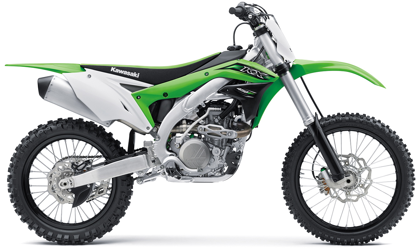 They Re Here First Look At The 2016 Kawasaki Kx450f