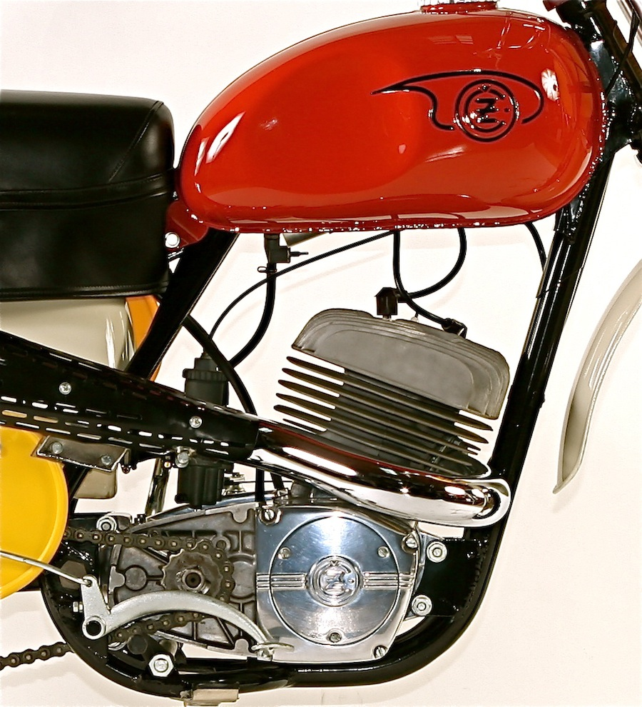 After WWII, the communist commissars merged CZ with archrival Jawa. CZ  would manufacture motorcycles for street, trials, enduro and road racing,  ...