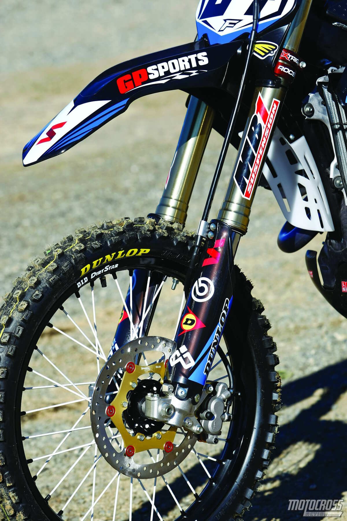 MB1 stiffened up the suspension for our Pro-level testers, while the forks  maintained