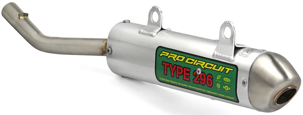 Pro Circuit SS89080-304 Silencer 304