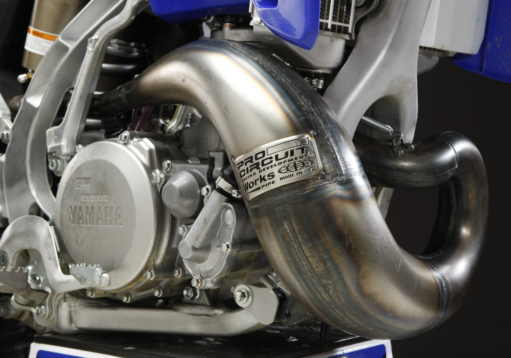MXA TEAM TESTED PRO CIRCUIT YZ250 PIPE SILENCER