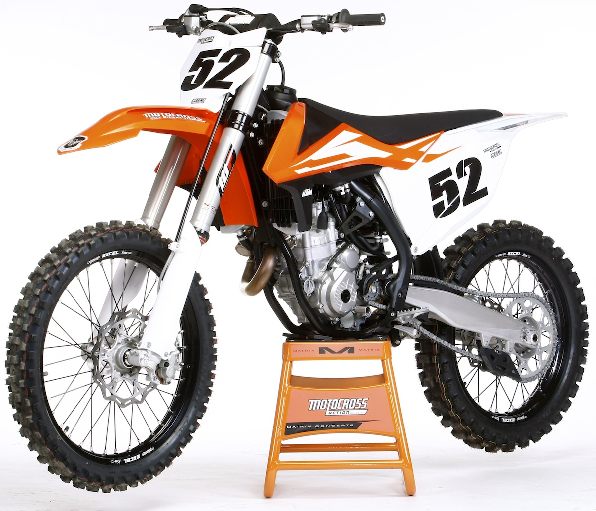 Q: WHAT ARE THE 10 BIG CHANGES TO THE 2016 KTM 350SXF?