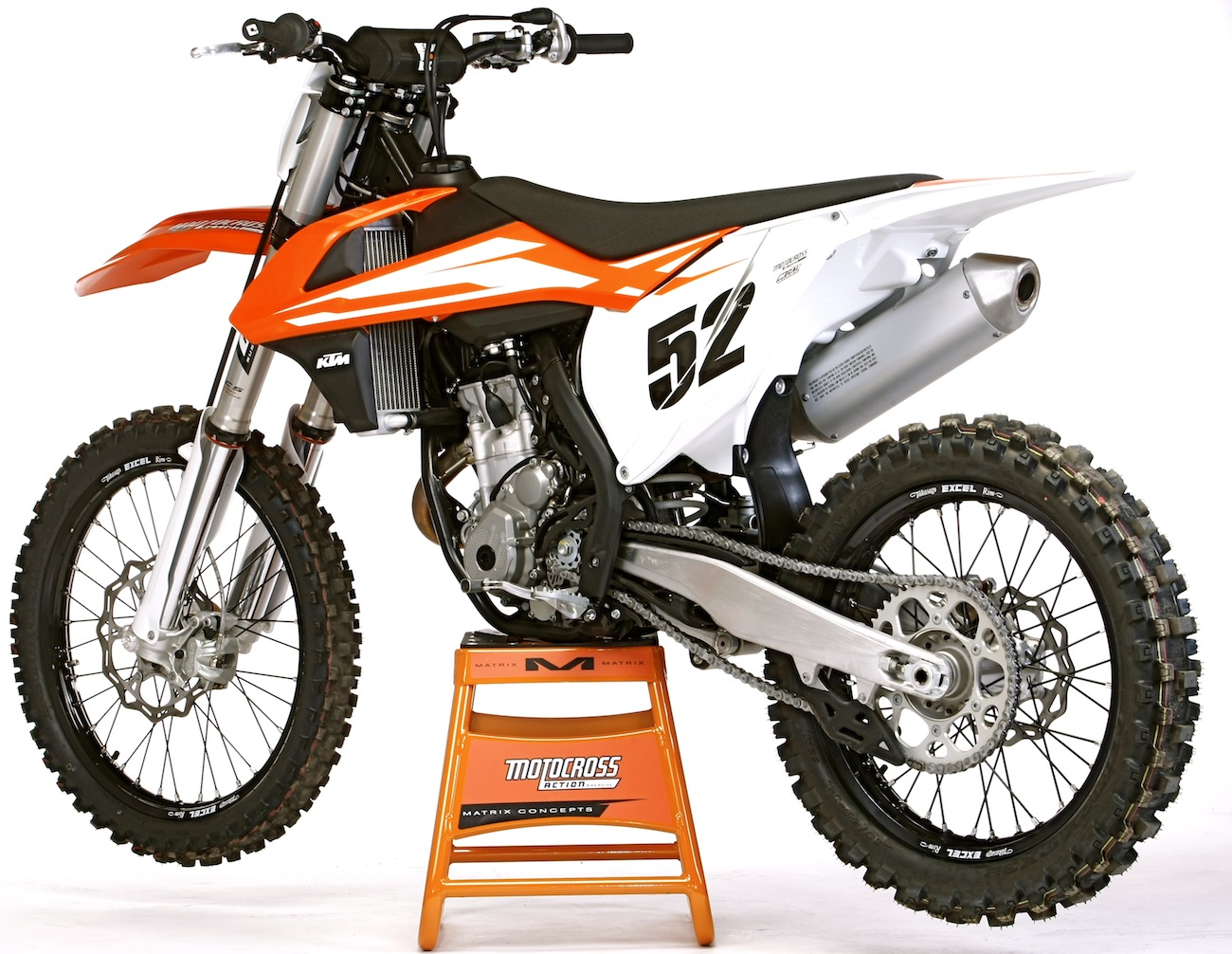 Mxas Ktm 350sxf Tech Tips Setup Advice Motocross Action Magazine 2014 350 Sx F Wiring Diagram Neutral Is Hard To Find When The Engine Running But That So You Cant Accidentally Hit It On Track Once Shut Off