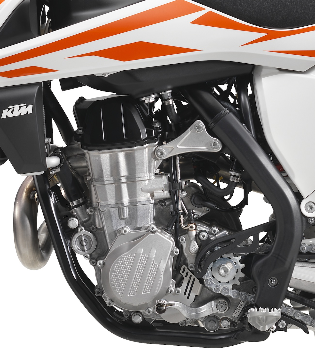 First Look Up Close With The 2017 Ktms Motocross Action Magazine Ktm 250 Engine Diagram 2017ktm450sxf