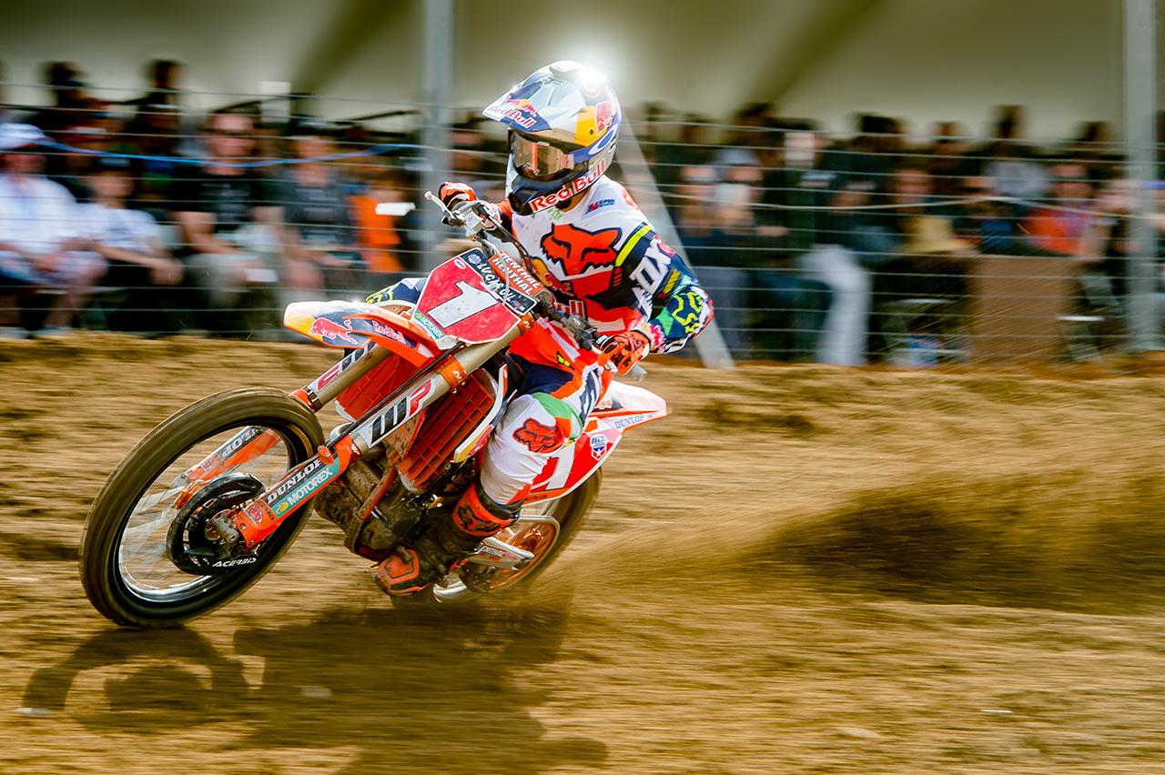 RYAN DUNGEY OUT WITH A BROKEN NECK