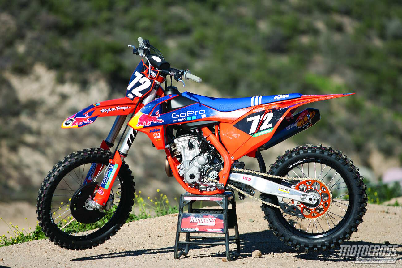 Don T Get Too Misty About The 2016 1 2 Ktm Factory Editions