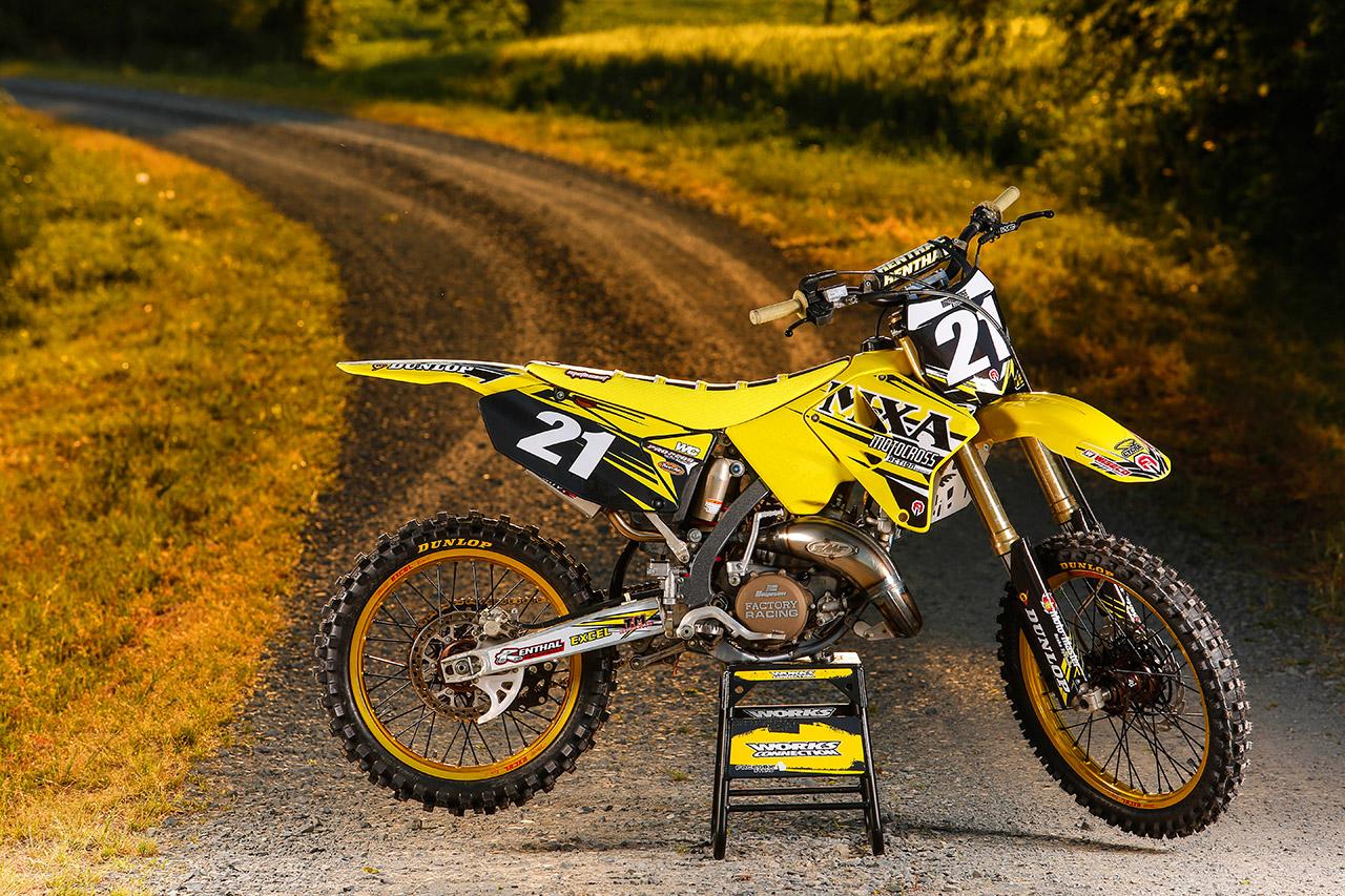 Suzuki Rm Dirt Bike