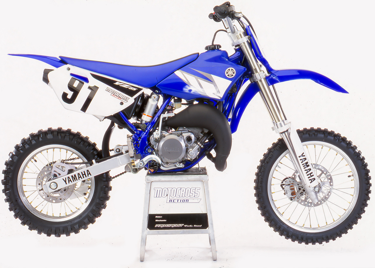 two stroke tuesday yamaha yz85 roots motocross action magazine. Black Bedroom Furniture Sets. Home Design Ideas