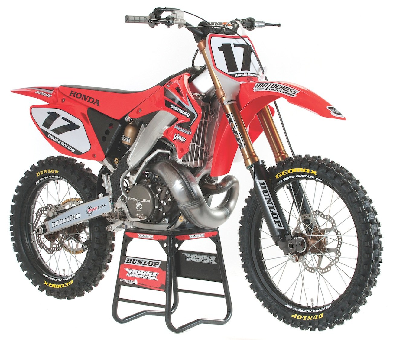 ULTRA-TRICK, 3-SPEED HONDA CR250 TWO-STROKE | Motocross