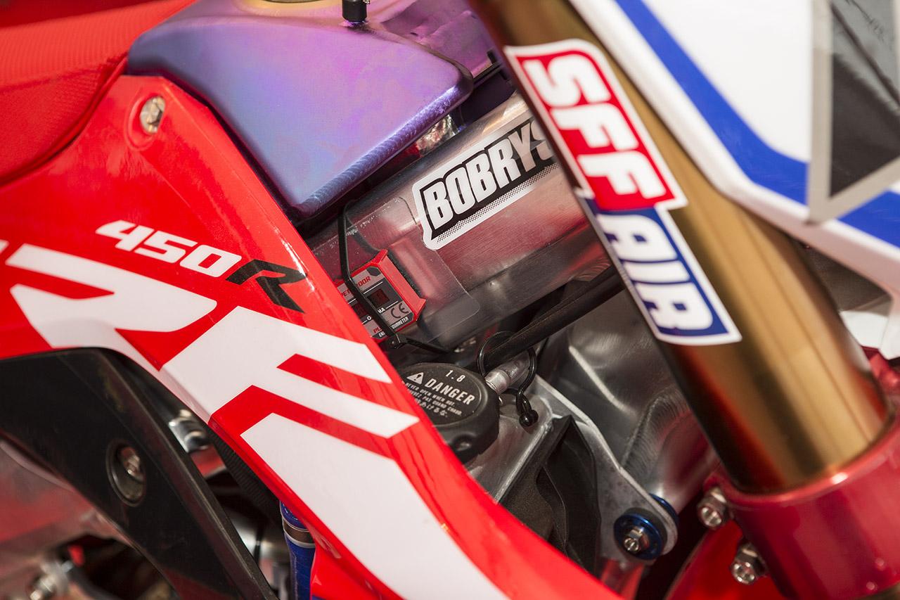 Inside Look 2017 Honda Hrc Factory Crf450 Motocross Action Magazine