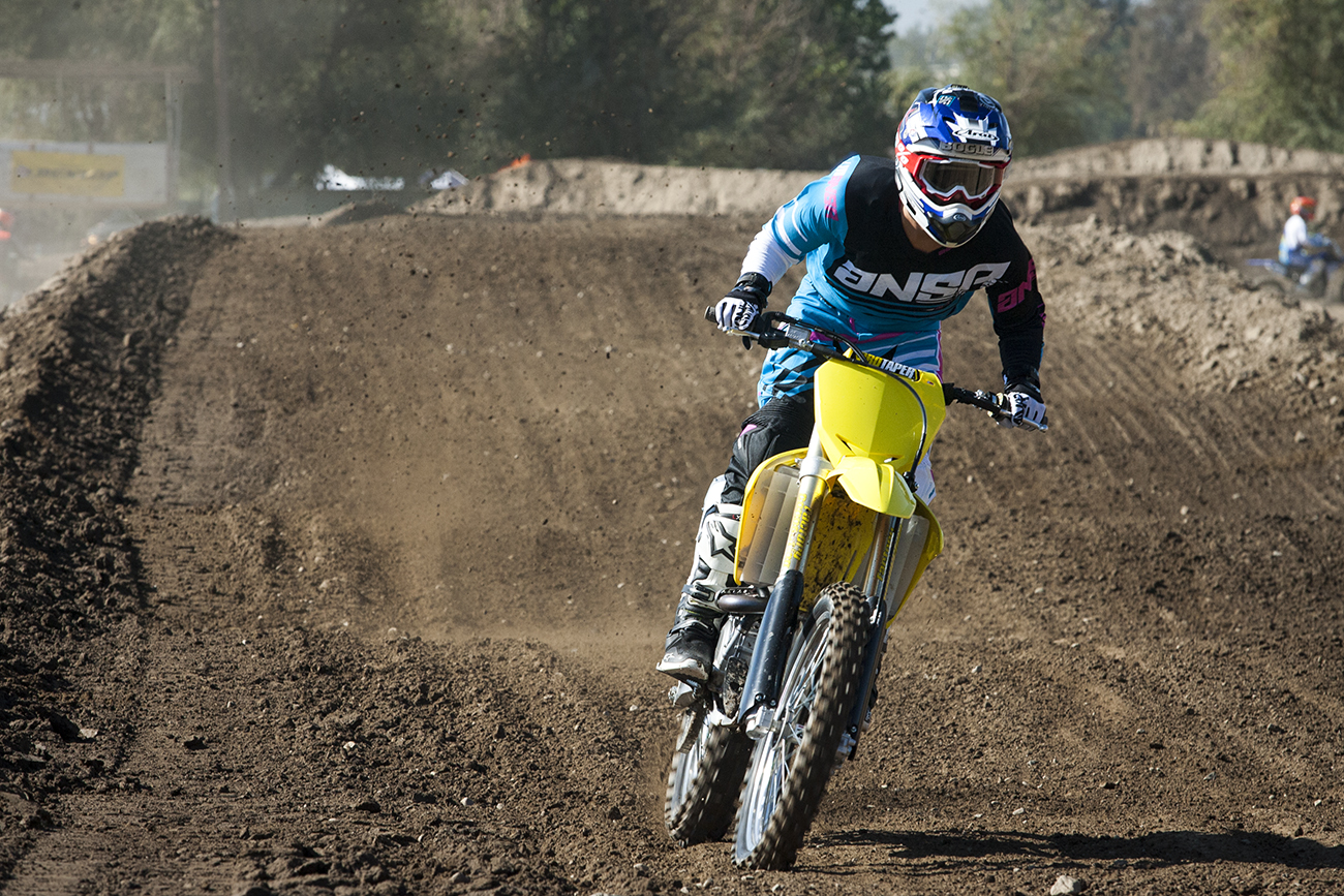 Justin Bogle Captured On A Suzuki Motocross Action Magazine