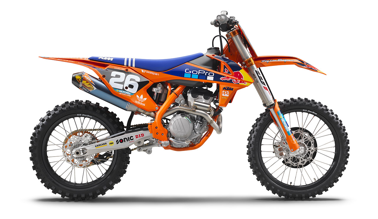 They Re Here Ktm 2017 Factory Edition Models Motocross