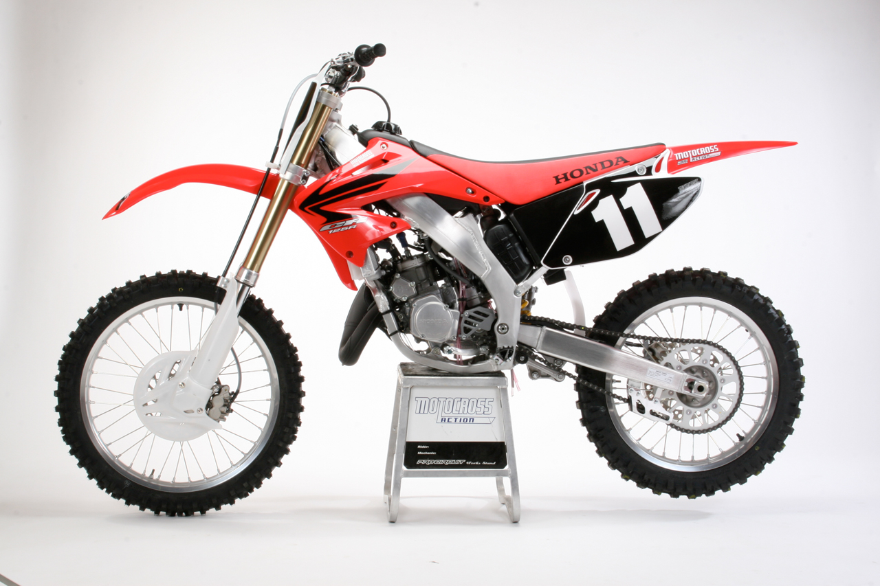 2007 Cr 125 Workshop Manual