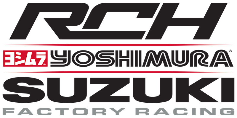 2017 Rch Yosh Suzuki Factory Logo Stacked On White