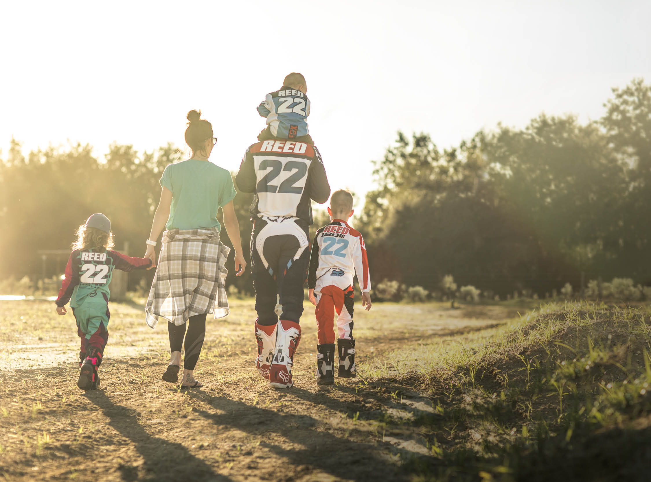 VIDEO: THE REEDS | ONE FAMILY, ONE BRAND|Motocross Action ...