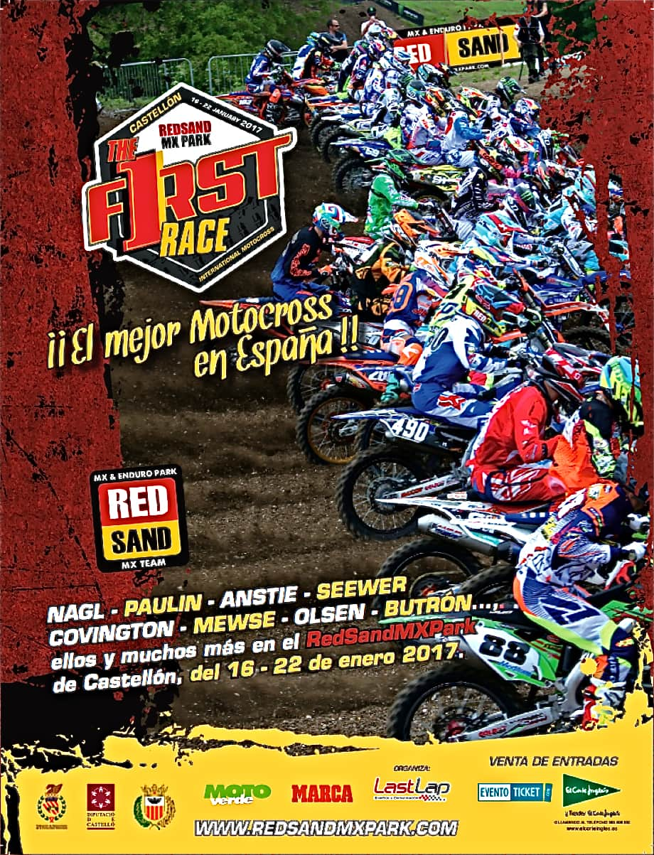 After Massive Expenditures By The Race Promoters (and Teams Who Traveled To  Redsand MX Park In Spain To Race), The First International Race Of The 2017  Has ...
