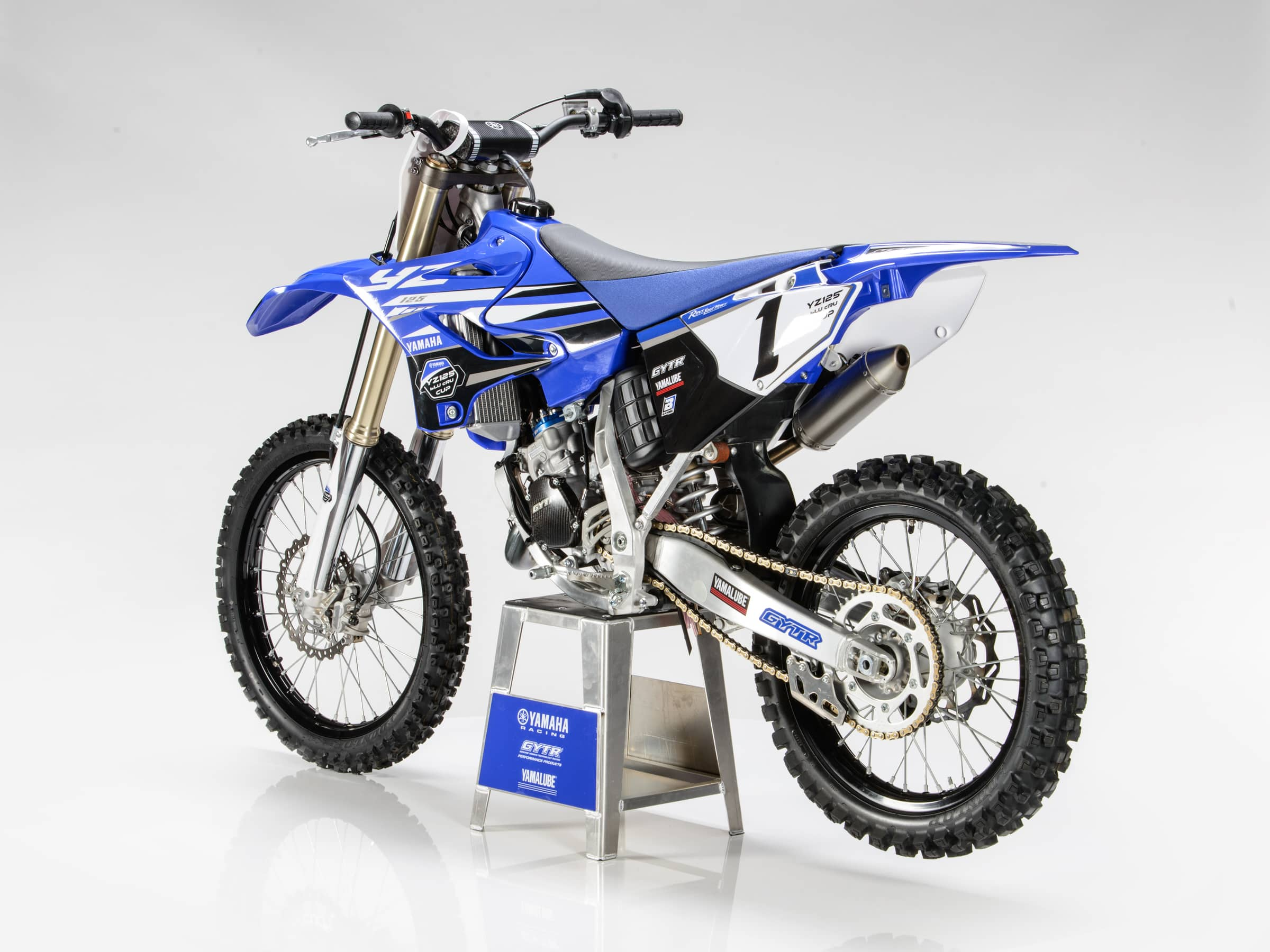 two stroke tuesday yamaha yz125 gytr kit motocross action magazine. Black Bedroom Furniture Sets. Home Design Ideas